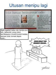 solat jumaat imankan radio